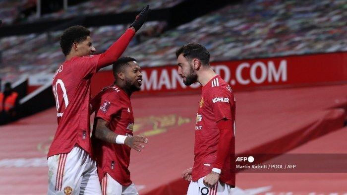 Hasil Liga Inggris, Manchester United Cetak Sejarah, Menang Tipis Atas Brighton