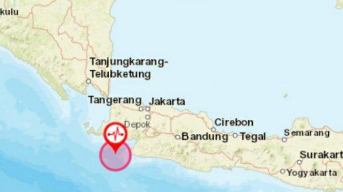 Gempa 5,1M Yang Mengguncang Wilayah Selatan Jawa Barat Tidak Dirasakan Masyarakat di Pangandaran