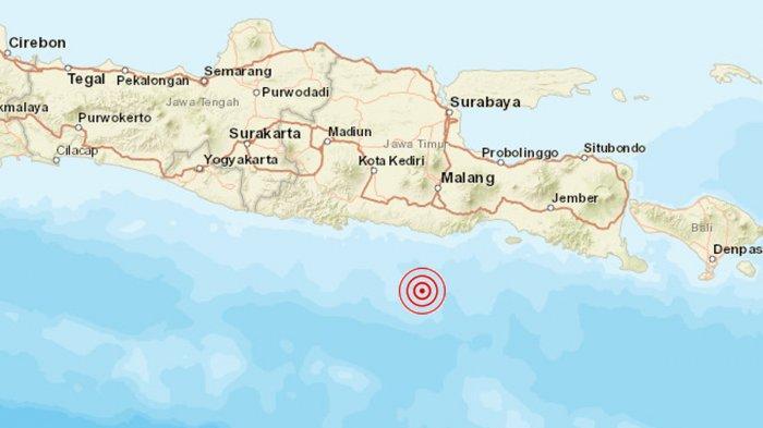 Gempa gempa baru saja mengguncang wilayah Pulau Jawa, Sabtu (10/4/2020) sekita pukul 14:00:15 WIB. Dikutip dari akun Twiiter BMKG, gempa terkini tersebut berkekuatan 6,7 Skala Richter