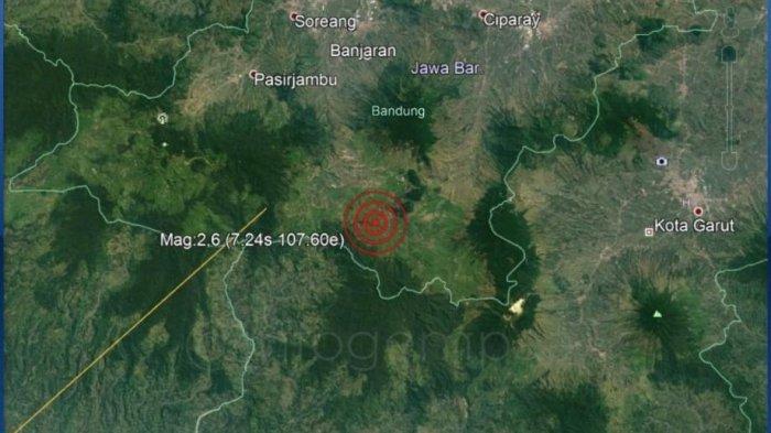 Gempa Banjaran Minggu Malam, Warga Pangalengan sampai Berhamburan Keluar Rumah