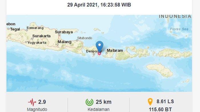 Baru Saja Gempa Bumi Menguncang Klungkung Bali, Ini Saran BMKG