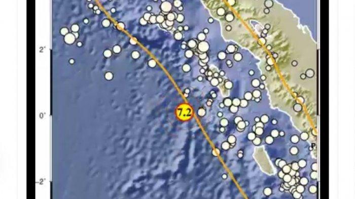 BARU TERJADI, Gempa Bumi 7,2 Guncang Nias Barat, Netizen Heboh Diskusi Tsunami, BMKG Beri Pengumuman