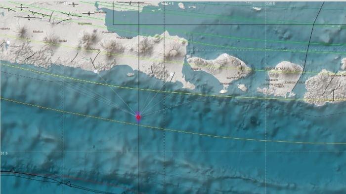 Barusan BMKG Laporan Gempa di Jember Jawa Timur, Berpusat di Kedalaman 10 Km