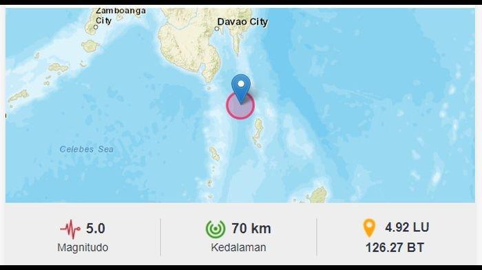 Gempa Bumi Guncang Melonguane Sulut Malam Ini, BMKG: Waspada Gempa Susulan