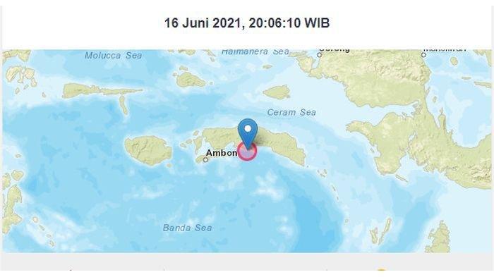 Gempa Bumi Ringan Melanda Tehoru Maluku Tengah, BMKG Minta Warga Waspada Gempa Susulan