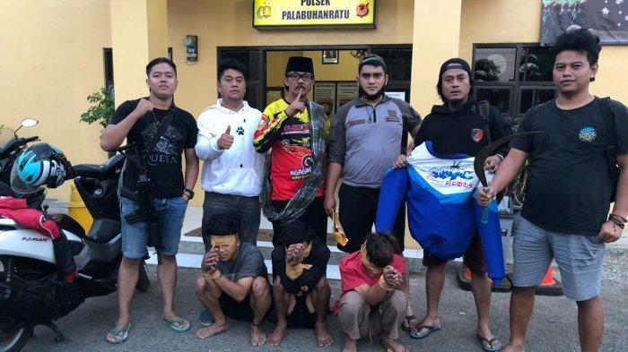 Dendam Antar Geng Motor di Sukabumi, Polisi Tangkap 3 Pembacok Pemuda di Pantai Dolphin
