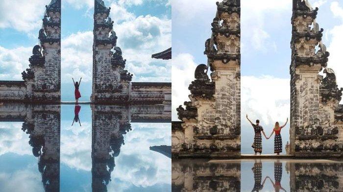 Indahnya Foto Gerbang Surga di Bali Ternyata Rekayasa dan Bikin Bule Kecewa