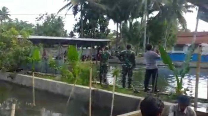 PPKM Darurat Tasik Tempat Pemancingan Pun Digerebek, Pemancing Langsung Ngacir, Pemilik Kena Sanksi
