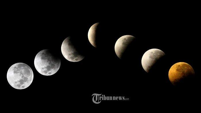Tata Cara Sholat Gerhana Bulan Total yang Terjadi Besok serta Niat Salat Gerhana