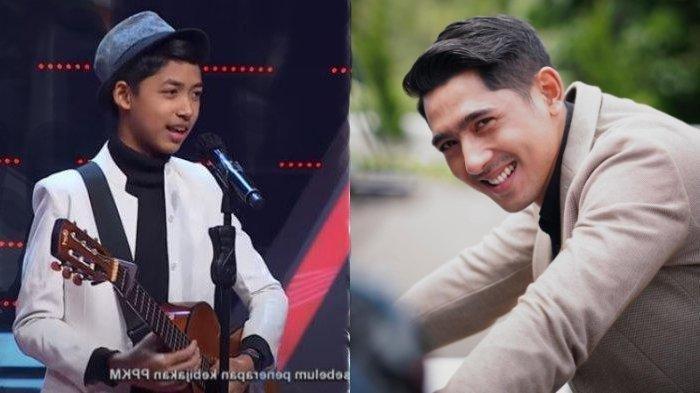 Ghatfaan Rifki finalis The Voice Kids Indonesia disebut mirip dengan Arya Saloka muda