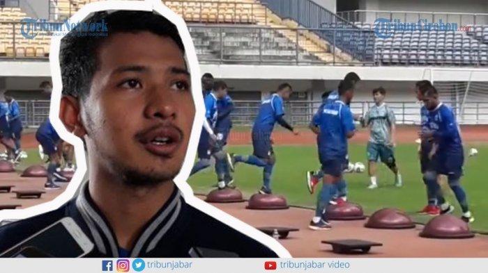 Persib Bandung Kembali Berlatih 22 Mei, Gian Zola Sebut Latihan Mandirinya Lancar