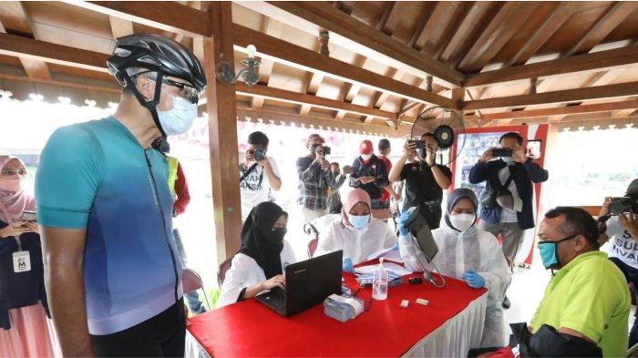 Gubernur Ganjar Serbu Vaksinasi di Borobudur, Dukung Wisata Event TDB dan Maraton