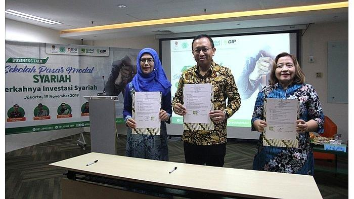 Kolaborasi Global Wakaf-ACT bersama BNI Sekuritas dan BEI di Sekolah Pasar Modal Syariah