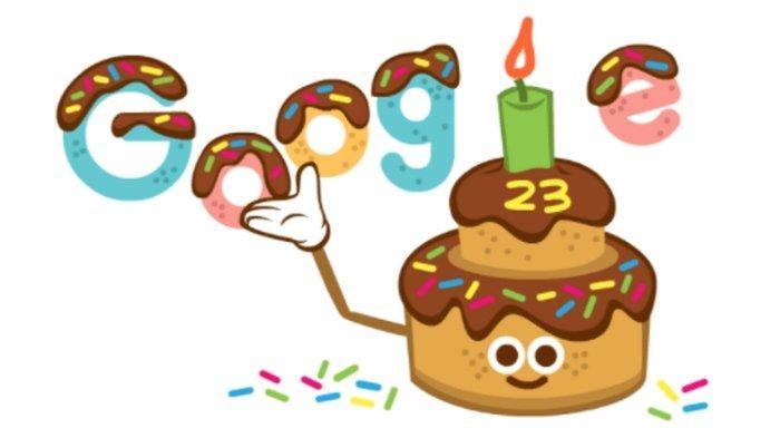 Selamat Ulang Tahun Google ke-23, Ada Gambar Manis di Google Doodle, Ini Sejarah Ultah Google