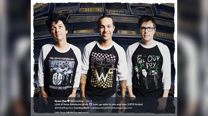 Green Day Donasikan Royalti Lagu Terbaru untuk Bela Korban Pelecehan Seksual