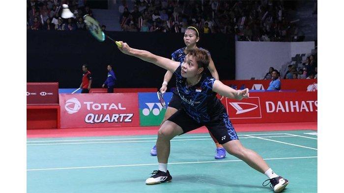 Tundukkan Ganda Unggulan, Greysia Polii/Apriyani Rahayu ke Final Indonesia Masters 2020