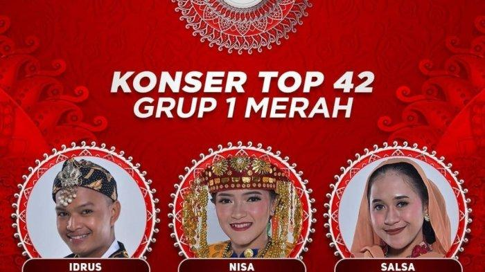 Hasil LIDA 2021 Tadi Malam Penampilan Grup 1 Merah Top 42 Besar, Duta Dangdut Asal Banten Tersenggol