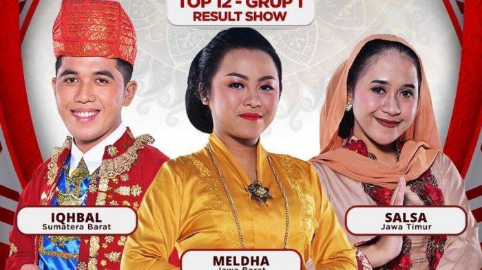 LIVE STREAMING LIDA 2021 Result Show Top 12, Grup 1 Ditantang Menari, Berikut Hasil Poling Sementara