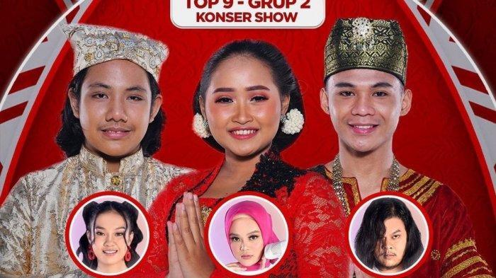 LIVE STREAMING LIDA 2021 Malam Ini Grup 2 Top 9 Besar yang Tampil, Ada Agnes POPA yang Siap Kolab