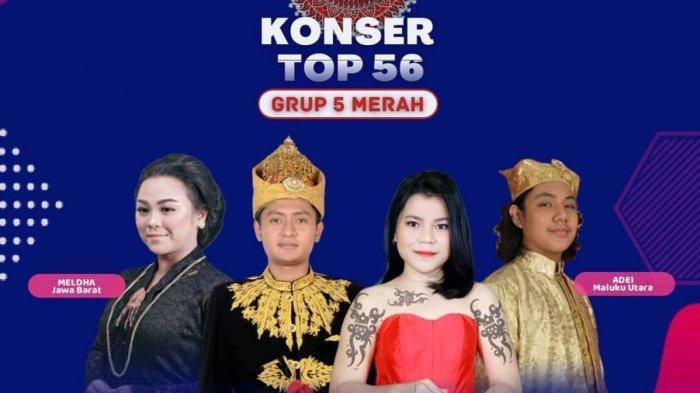 LIVE STREAMING LIDA 2021 Malam ini Grup 5 Merah Top 56 Besar, Peserta Perwakilan Jawa Barat Tampil