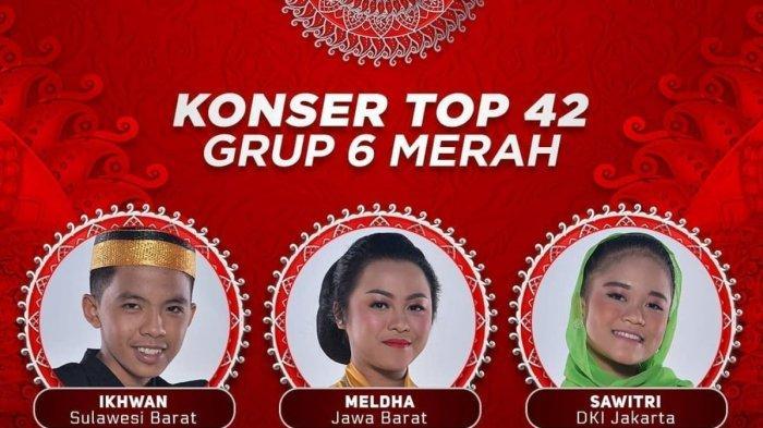 LINK Live Streaming LIDA 2021 Malam ini Grup 6 Merah, Meldha Duta Dangdut dari Jabar Siap Tampil