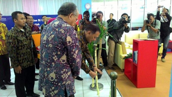 Gubernur Bank Indonesia Resmikan BI Corner di Universitas Pendidikan Indonesia