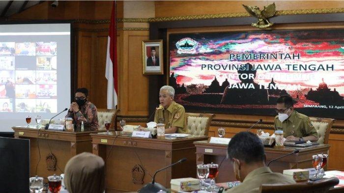 Gubernur Ganjar Pranowo Dukung Kebijakan Larangan Mudik, Siapkan Penyekatan Perbatasan Jabar-Jateng