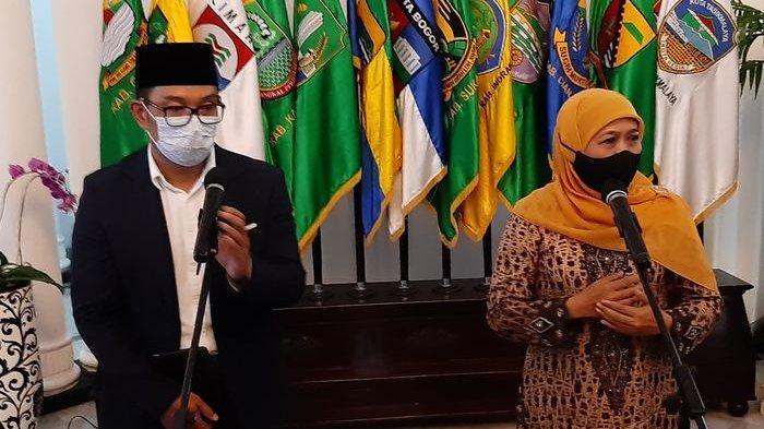 ADA APA Gubernur Jabar dan Jatim Bertemu di Gedung Sate Malam-malam, Terkait Pilpres 2024?