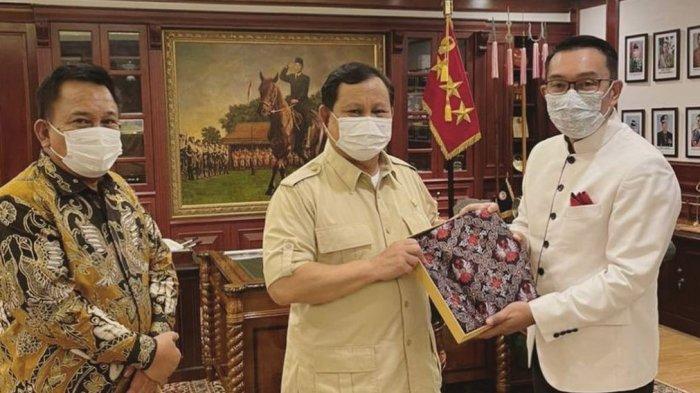 Bertemu Prabowo, Ridwan Kamil Siap Bersinergi Menguatkan Kesuksesan Partai Gerindra di Jabar