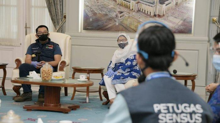 Gubernur Jabar Ridwan Kamil Ikuti Verifikasi Lapangan Sensus Penduduk 2020