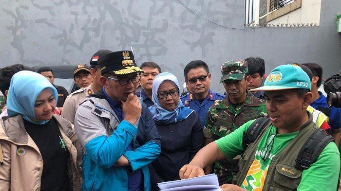 Ridwan Kamil Tinjau Banjir di Bekasi dan Bogor, Pastikan Logistik untuk Korban Mencukupi