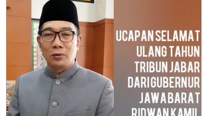 Doa Ridwan Kamil di HUT ke-14 Tribun Jabar, ''Semoga Selalu Maju dan Terdepan''