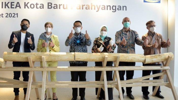 Resmi Dibukadi Kota Baru Parahyangan, Ridwan Kamil Berharap Ikea Dorong Pertumbuhan Ekonomi Lokal