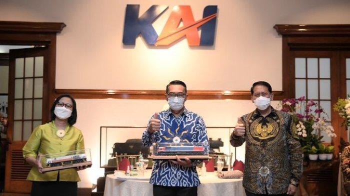 Setelah Bandung-Garut, Ridwan Kamil Ingin Kereta Api Bandung-Ciwidey Hidup Kembali