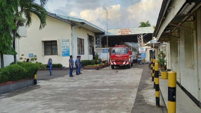 Gudang Kapas Pabrik Tekstil PT Grantex Terbakar, Api Membumbung Tinggi