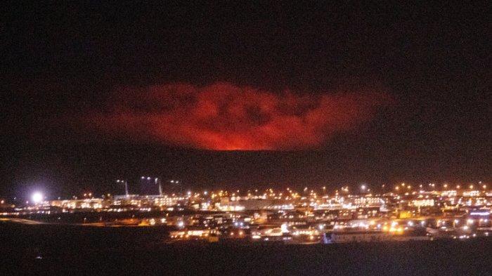 Gunung Berapi di Islandia Meletus, Setelah Terjadi 50.000 Gempa Bumi 3 Pekan Terakhir
