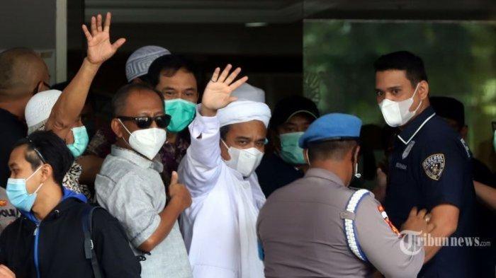 Fakta Pemeriksaan Rizieq Shihab di Polda Metro Jaya Hingga Petang Ini, Siap Ditahan?