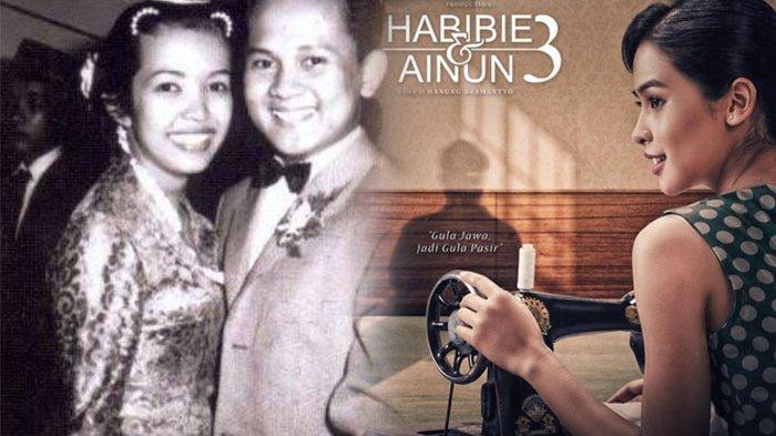 Kenang BJ Habibie di Film Habibie & Ainun 3, Maudy Ayunda Membuat Ilham Habibie Teteskan Air Mata