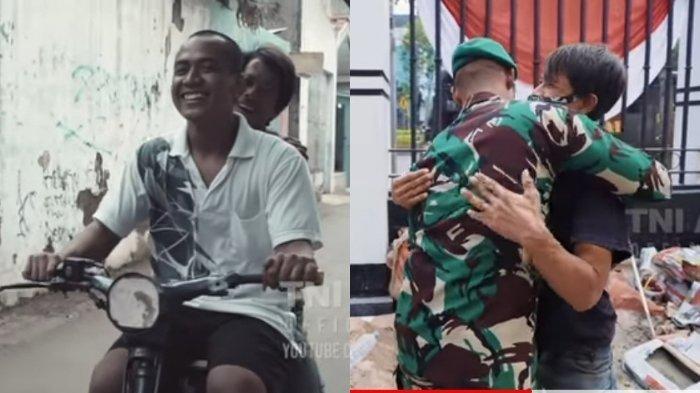 Haidir Anam Jadi TNI, Tak Lupakan Sandi yang Kuli Bangunan, Persahabatannya Disorot Andika Perkasa