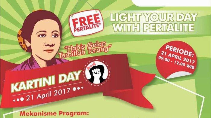 Hari Kartini, Pertamina Bagi-Bagi Pertalite Gratis Bagi yang Bisa Nyanyi Lagu ''Ibu Kita Kartini''