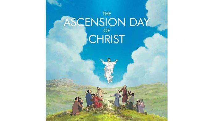 Kumpulan Ucapan Selamat Merayakan Hari Kenaikan Yesus Kristus baik Tulisan maupun Gambar