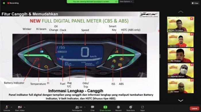 Sesi Product Knowledge mengenai fitur unggulan dan performa dari Honda PCX 160