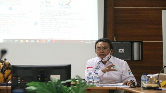Buru Ide dan Usulan Terbaik Penyempurnaan Permensos ATENSI, Kemensos Gelar FGD  di Bandung