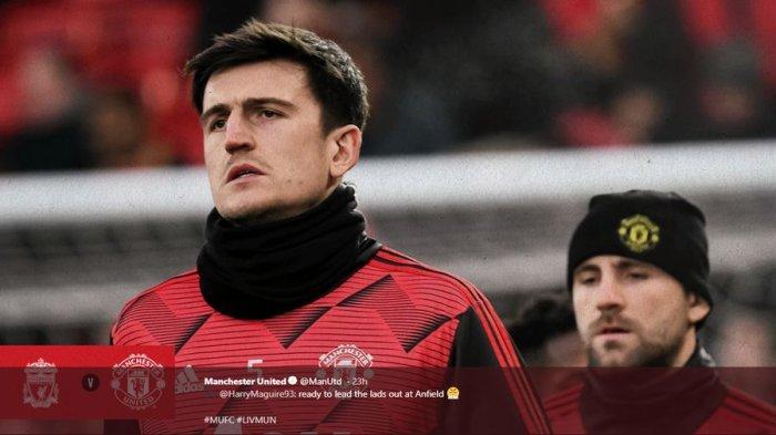 Chelsea vs Man United, Live Mola TV, Minggu Pukul 23.30 WIB - Harry Maguire Sesumbar akan Menang