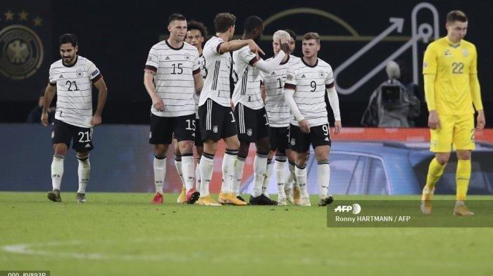 Hasil Lengkap Kualifikasi Piala Dunia 2022, Jerman Tim Pertama yang Lolos, Timo Werner Cetak Dua gol