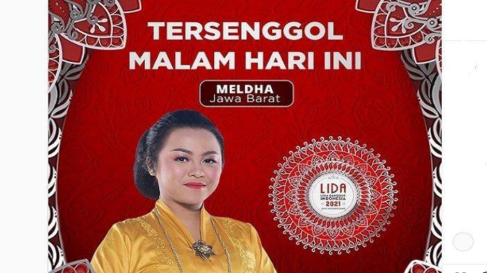 Hasil LIDA 2021 Tadi Malam, Meldha Duta Jawa Barat Tersenggol di Top 9, Ini Penampilan Terakhirnya