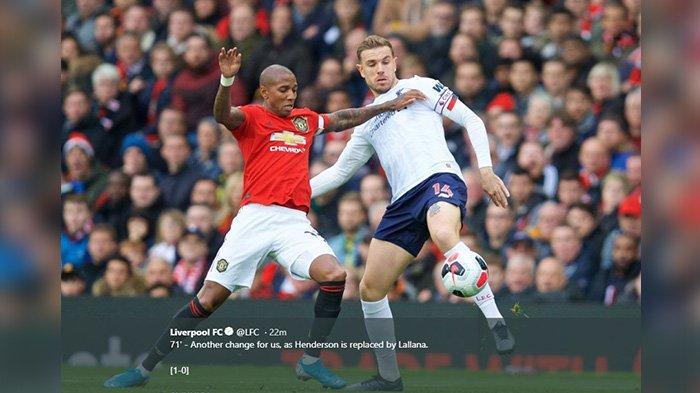 Gol Telat Liverpool Buyarkan Pesta Manchester United, The Reds Masih Tak Terkalahkan