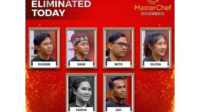 Hasil MasterChef Indonesia Season 8, Ini Kostestan yang Tersingkir, Tinggal Berapa yang Bertahan?