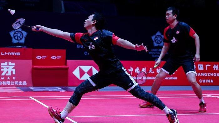 Hendra/Ahsan Maju ke Final BWF World Tour Finals 2019, Siap Tanding Lawan Ganda Jepang
