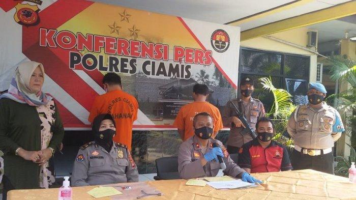 Heri dan Hari, Maling Spesialis Mobil Pikap di Ciamis Disergap Polisi, Seorang Rekannya Masih Buron